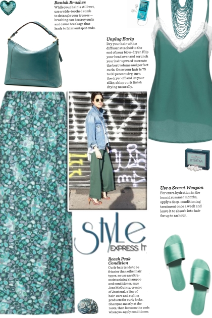 How to wear a Multicolored Patterned Maxi Skirt!