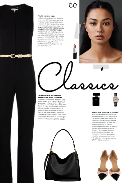 How to wear a Sleeveless Pressed Crease Jumpsuit!