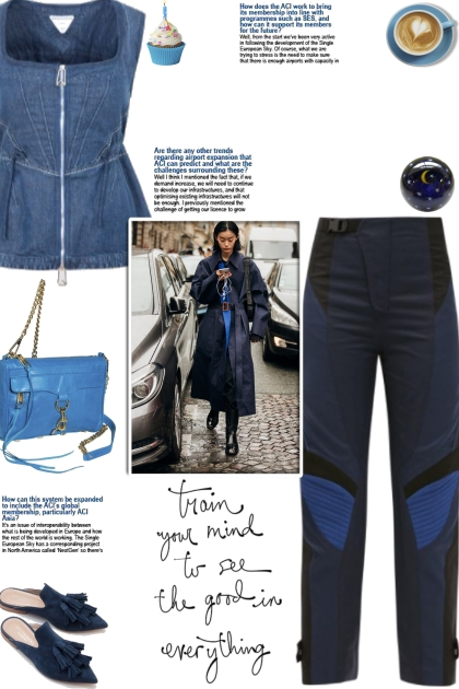 How to wear Panelled High Rise Pants!- Kreacja