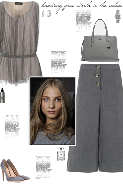How to wear a Tulle Belted Sleeveless Top!