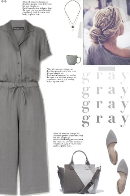How to wear a Short-Sleeve Linen Jumpsuit!