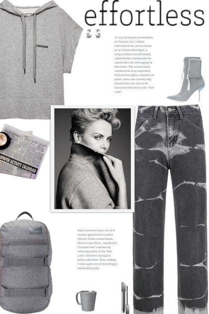 How to wear Tie-Dye Wide Leg Jeans!- combinação de moda