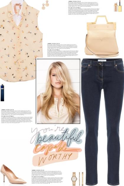 How to wear a Layered Floral Sleeveless Shirt!- combinação de moda