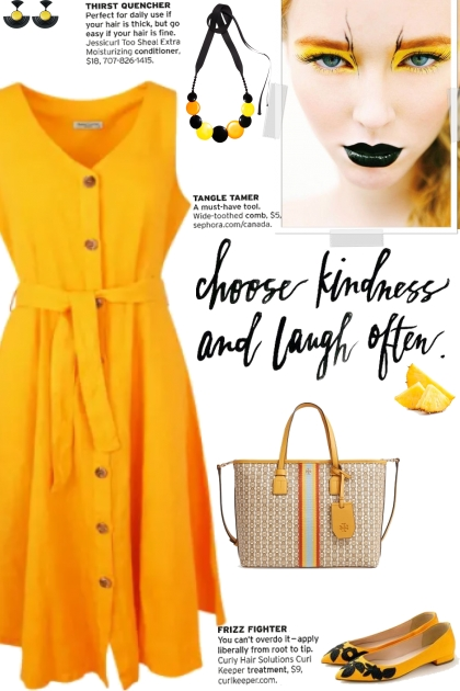 How to wear a Solid Color Belted Sleeveless Dress!