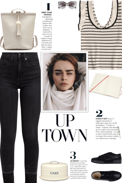 How to wear Skinny Faded Denim Jeans!
