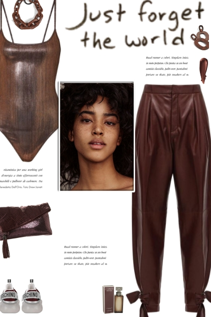 How to wear Bow Detailed Faux Leather Pants!