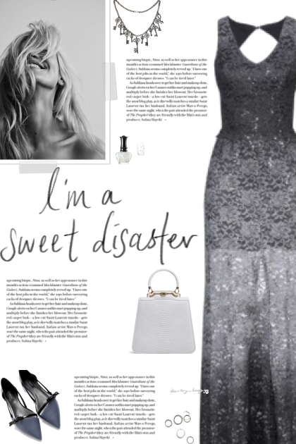 How to wear a Sleeveless Lace Long Dress!