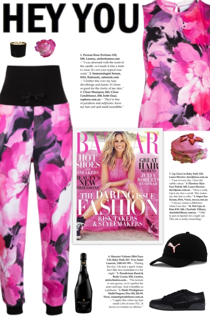 How to wear a Tie-Dye Floral Activewear Set!