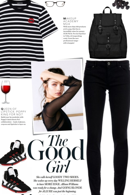 How to wear a Striped Cotton Jersey T-Shirt!