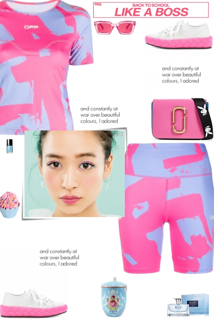 How to wear a Co-Ord Printed Activewear Set!