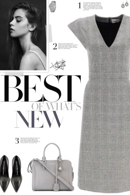 How to wear a Checked Sheath Dress!