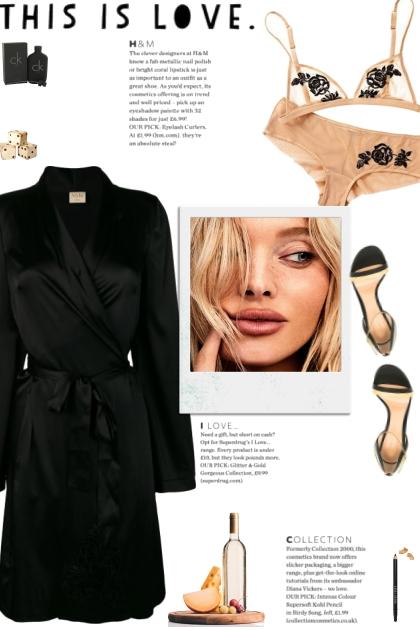 How to wear a Co-Ord Embroidered Lingerie Set!- Combinaciónde moda