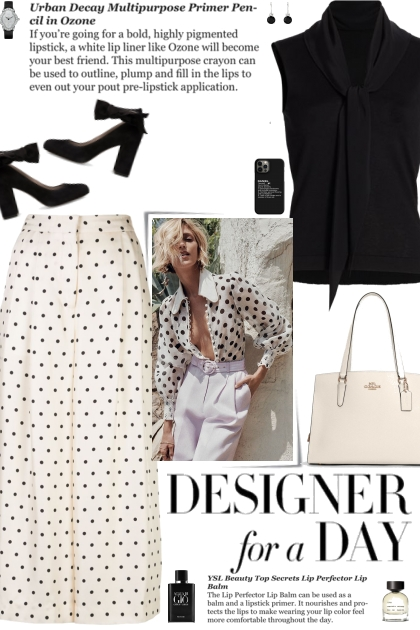 How to wear Polka Dot Silk-Twill Culottes!
