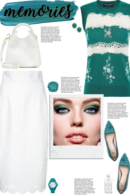 How to wear a Lace Detailed Knit Top!