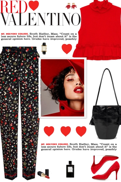 How to wear a Floral Print Fitted Trousers!