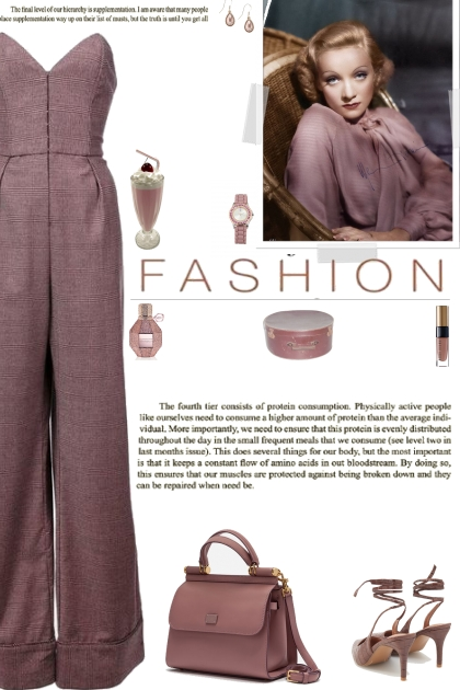 How to wear a Strapless Wide Leg Jumpsuit!