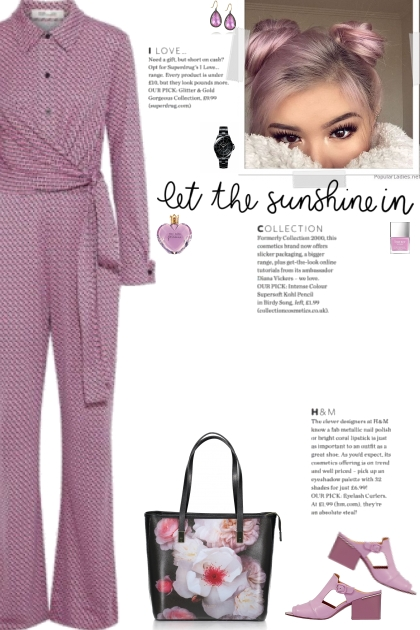 How to wear a Patterned Long Sleeve Jumpsuit!