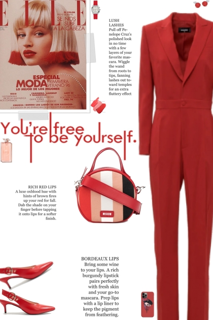 How to wear a Tuxedo Inspired Jumpsuit!