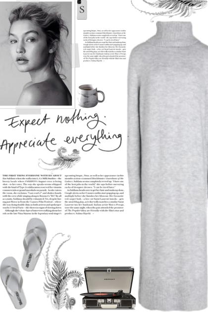 How to wear a Knitted Turtleneck Dress!