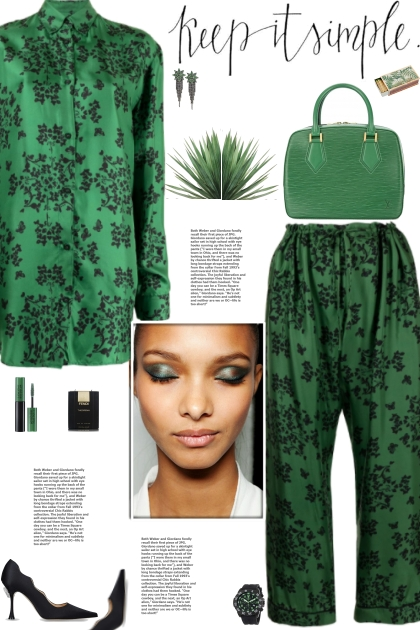 How to wear a Co-Ord Printed Pant Set!