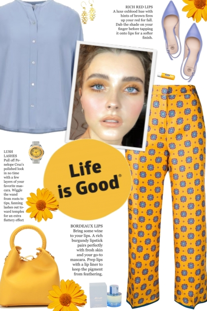 How to wear Floral Patterned Trousers!