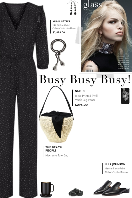 How to wear a Polka Dot Wrap Effect Jumpsuit!
