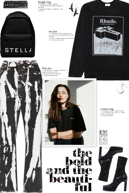 How to wear an Oversized Graphic Print Sweatshirt!