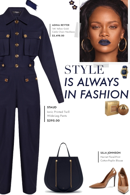 How to wear a Wool Decorative Button Jumpsuit!