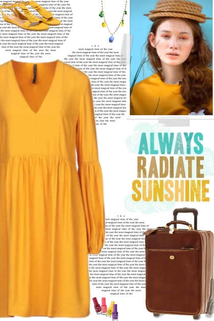 How to wear a Gathered Long Sleeve Dress!