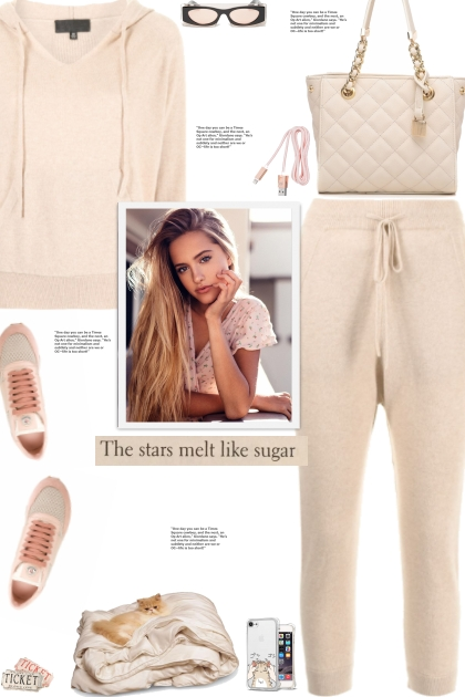 How to wear a Co-Ord Soft Cashmere Set!