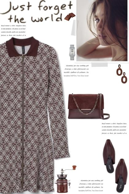 How to wear a Floral Geometric Print Dress!