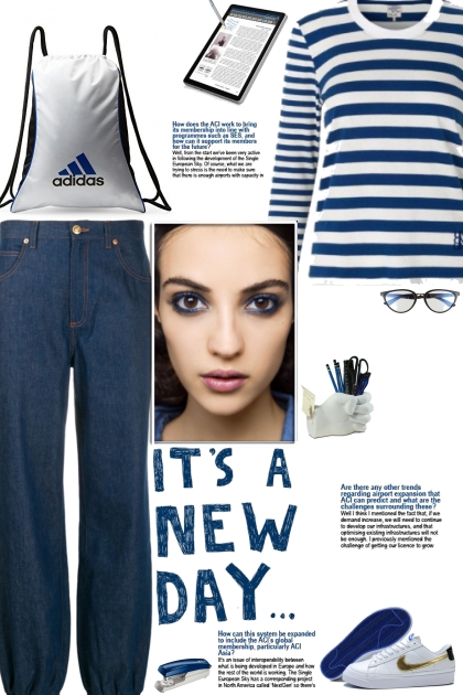 How to wear a Striped Regular Fit T-Shirt!