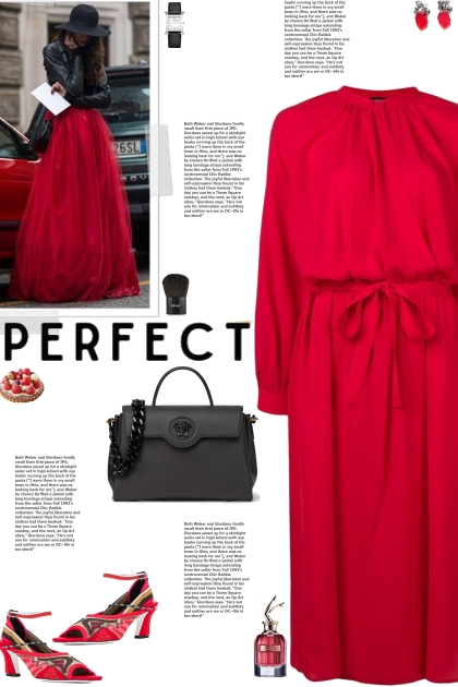 How to wear a Round Neck Belted Dress!
