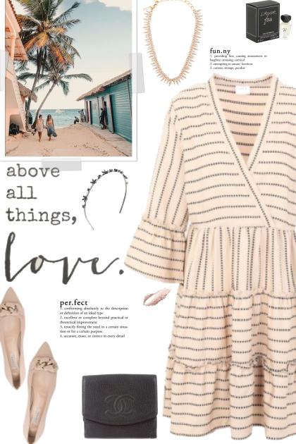 How to wear a Plain Weave Ruffled Short Dress!