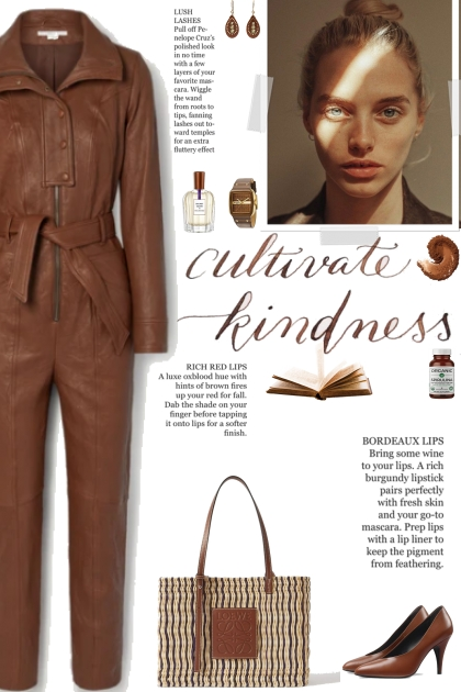 How to wear a Crinkled Faux Leather Jumpsuit!