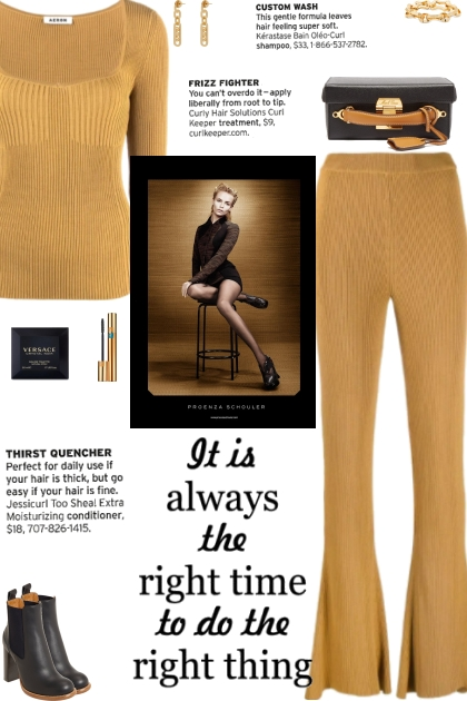 How to wear a Co-Ord Ribbed Knit Set!