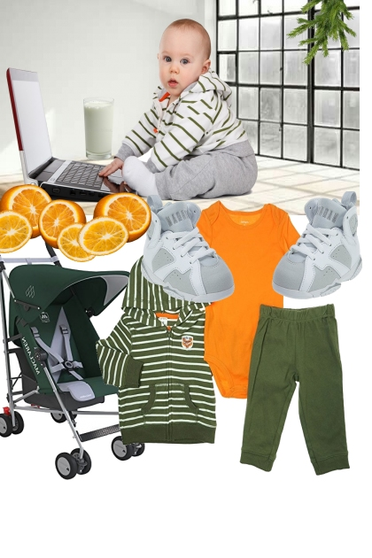 Baby Boy Hoodie Outfit