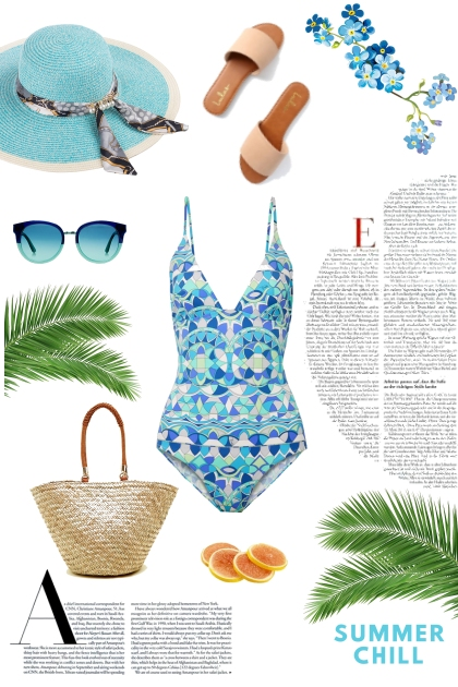 Oceanic Blue Summer Combination