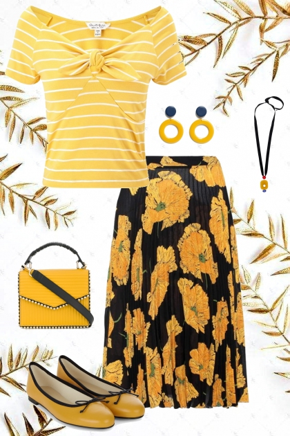 Floral Yellow Pop