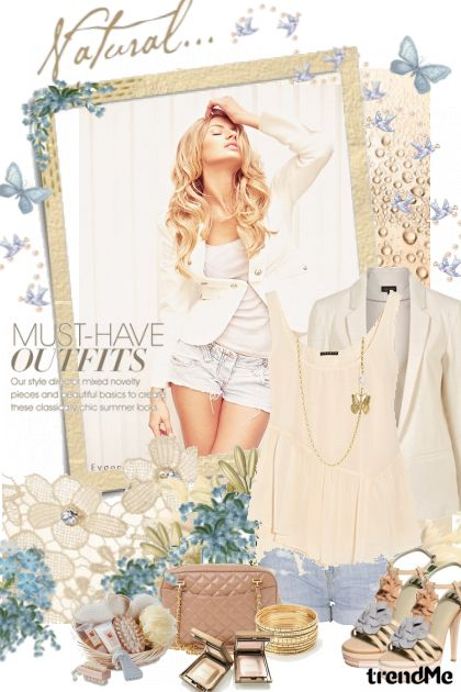 Natural outfits.. from collection Life.. by petra pavlic