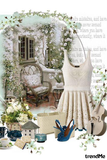 Garden with love..- Fashion set
