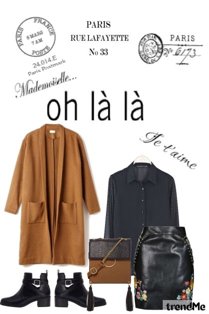 chic like a parisian из коллекции oh là là от Miss Ela S