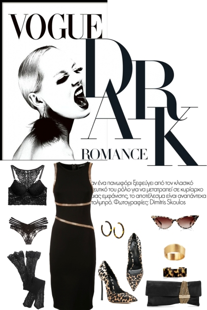 DARK ROMANCE- Fashion set
