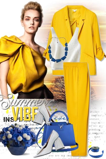 Yellow- Fashion set