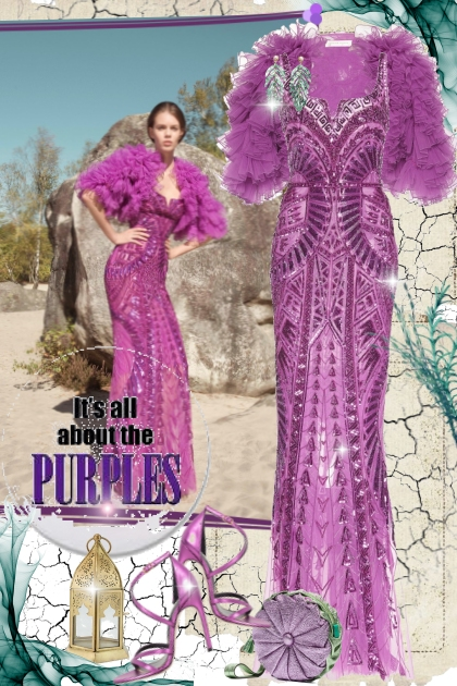 It's all about the purples...