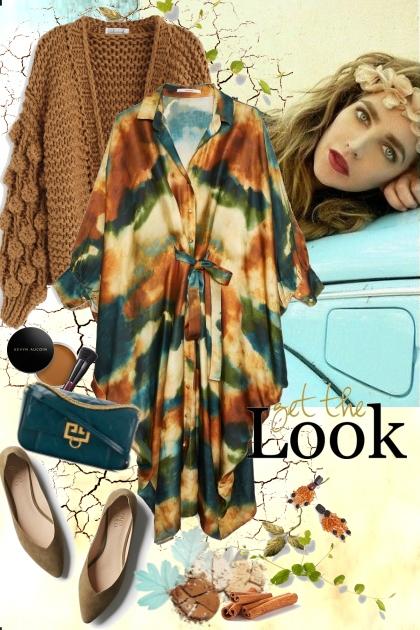 Silk dress- Kreacja