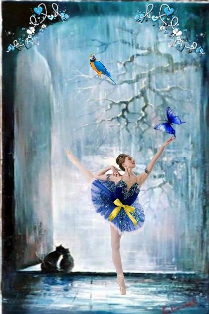 Dance till the butterflies fly...