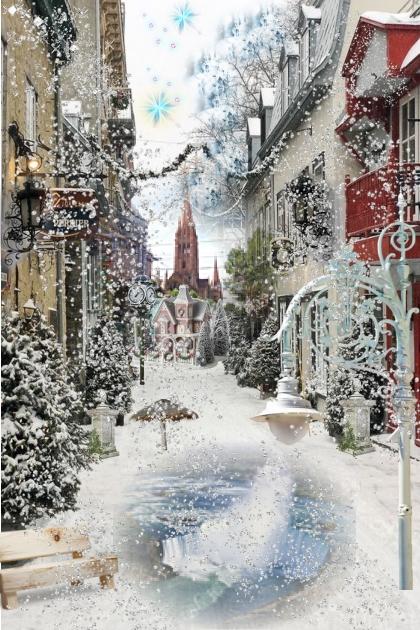 Snowy Day- Modna kombinacija