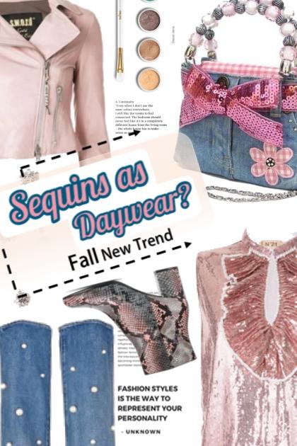 Sequins as Daywear