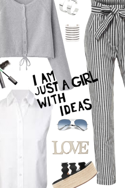 I AM JUST A GIRL WITH IDEAS